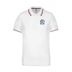 POLO HOMME TRICOLORE